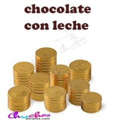 Monedas de chocolate 60 gramos