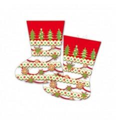 Bolsa calcetín navidad 100 unidades