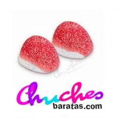 Besos fresa azucarado 100 gramos