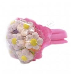 Bouquet 6 pink daisies