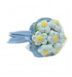 Bouquet 6 blue daisies