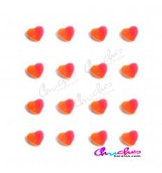 100 grams sugary mini hearts