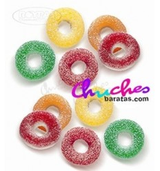 Assorted sugary rings 100 grams