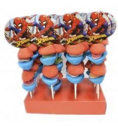 Brochetas spiderman 20 unidades
