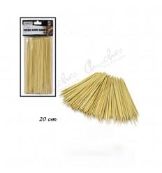 Palos bambú 20 cm 85 unidades