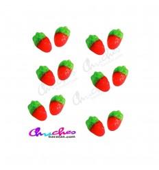 Mini fresas brillo 100 gramos