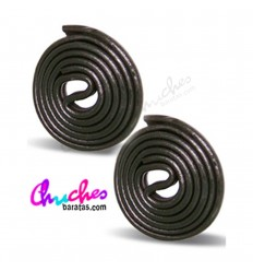 Disco regaliz negro 100 gramos