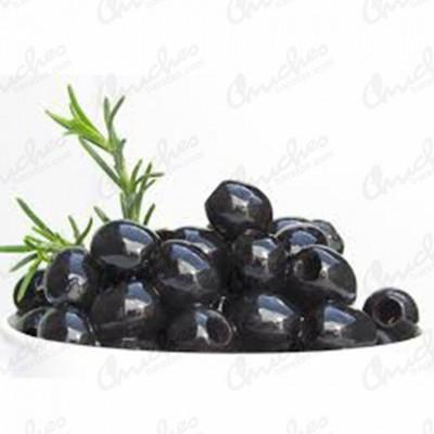 Aceitunas negras deshuesada