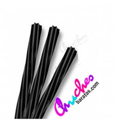 Twisted black licorice 12 units