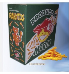 Rabitos sancks caja 40 unidades