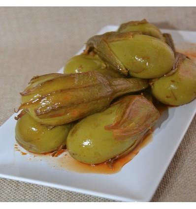 Eggplant seasoned 20/25