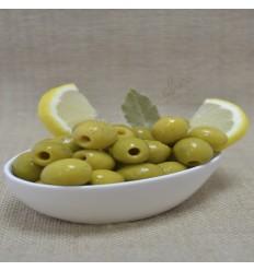 Pitted olives lemon flavor