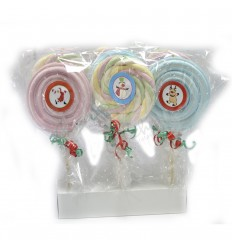 Christmas cloud lollipops