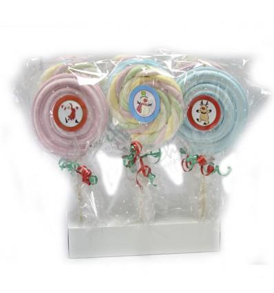 Christmas cloud lollipops