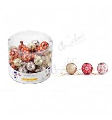 1 kg chocolate Christmas balls