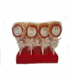 Girl communion candy lollipop 25 units