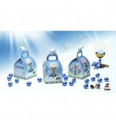 Communion box choco blue