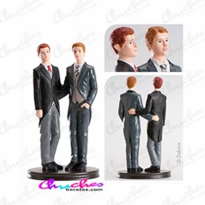 Figura boda pareja gay