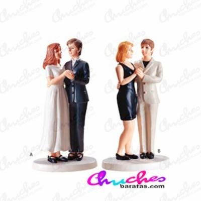 Figura boda pareja lesbiana