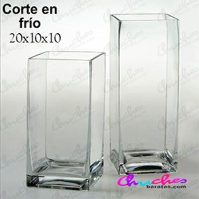 Bombonera jarros cristal 20 x 10x10 cm