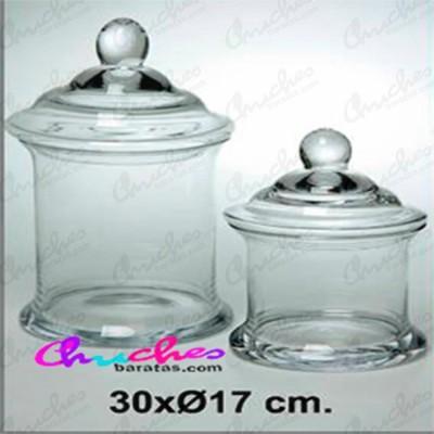 Bombonera cristal 30 x 17 cm