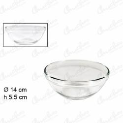 Glass bowl 15 cm