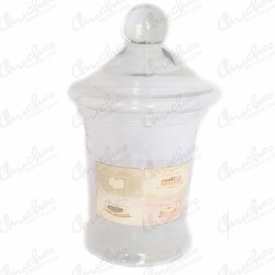 Bombonera cristal dulces 32 x 14 cm