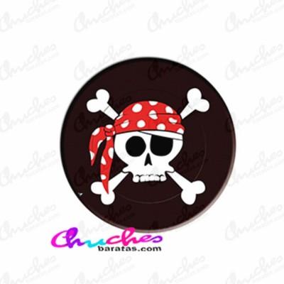 Platos piratas 8 unidades