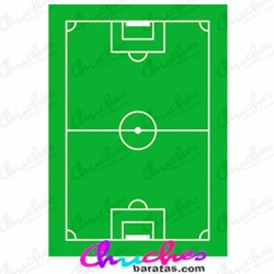 Wafer rectangle soccer field