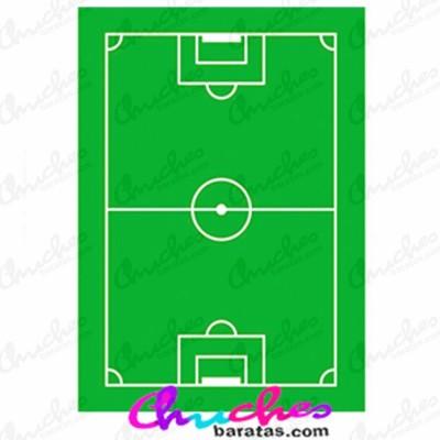 Oblea rectangulo campo de futbol