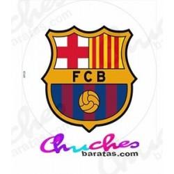 Oblea escudo Barcelona CF