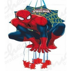 Piñata silueta spiderman