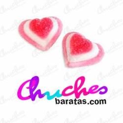 Corazón tricolor  azucarados fini