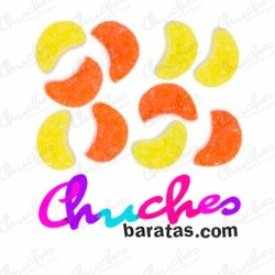 Mini Gajos naranja y limón azucarados fini