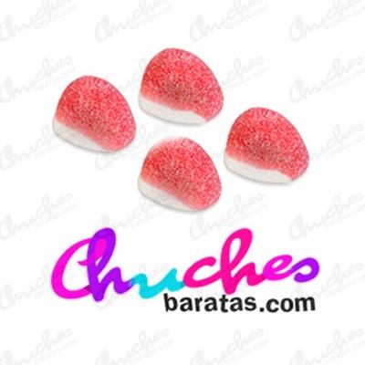 Mini besitos fresa azucarados fini