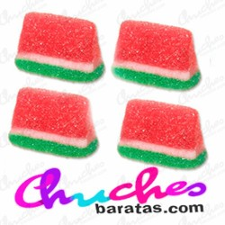 Watermelon-shaped jelly beans