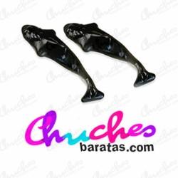 Orcas fini whales