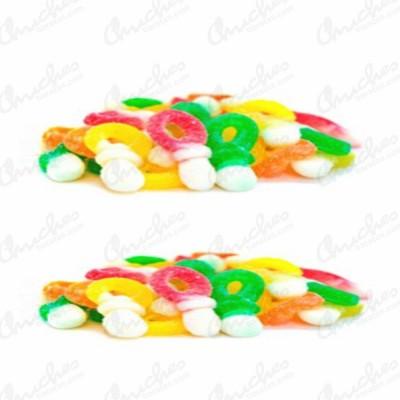 Mini chupetas azucarado dulceplus
