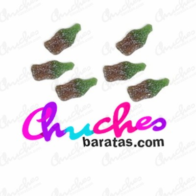 Mini botellas cola azucaradas dulceplus