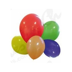 Assortments balloons 100 units