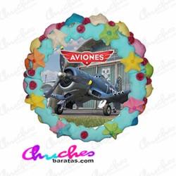 Wafer cake planes 28 x 8 cm