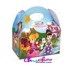 Caja princesas ,hadas y brujas 12 unidades
