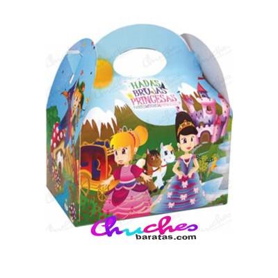 Caja princesas ,hadas y brujas