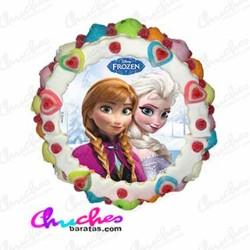Tarta oblea Frozen 28 x 8 cm