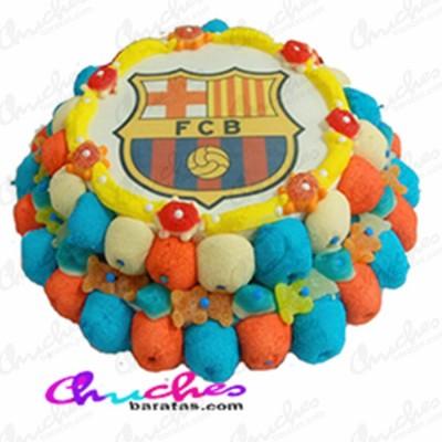 Tarta 2 pisos FC Barcelona