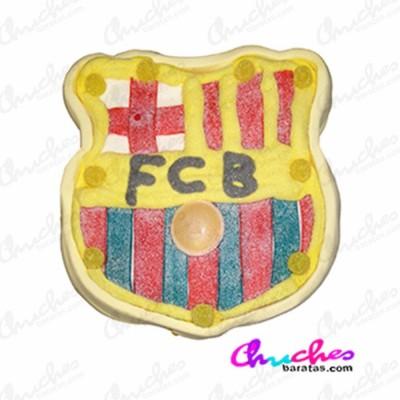 shield-fc-barcelona cake