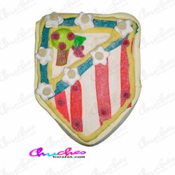 Tarta Escudo Atletico de Madrid