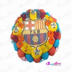 Wafer cake FC Barcelona