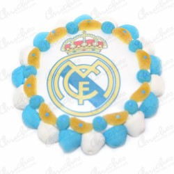 Tarta oblea Real Madrid CF