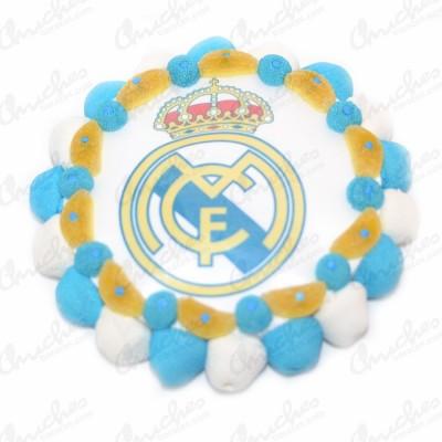 Tarta oblea Real Madrid CF